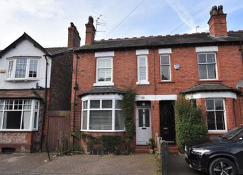 Thumbnail 3 bed end terrace house for sale in Cecil Road, Hale, Altrincham