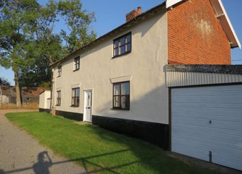 Thumbnail 4 bed detached house to rent in Silver Street, Besthorpe, Attleborough