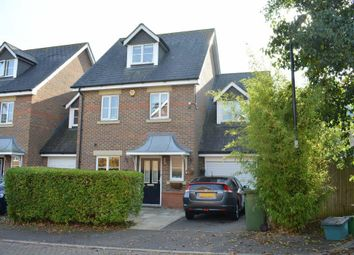 Thumbnail 4 bedroom detached house to rent in Saville Close, Epsom