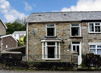 Thumbnail 2 bed semi-detached house for sale in Bridgend Road, Aberkenfig, Bridgend .