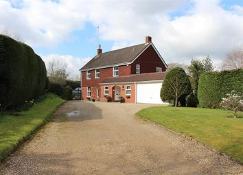 Thumbnail 4 bed detached house for sale in Rotten Row, Bradfield, Reading