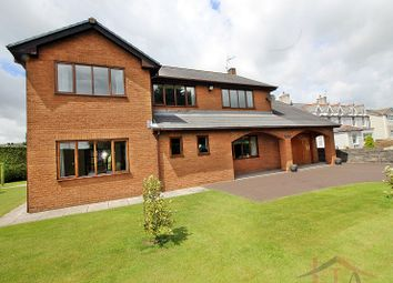Thumbnail 4 bed detached house for sale in Waterton Road, Coychurch, Bridgend, Bridgend.