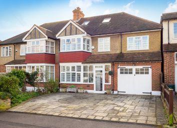 Thumbnail 5 bed semi-detached house for sale in Newbolt Avenue, Cheam, Sutton, Surrey