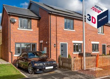 Thumbnail 3 bed semi-detached house for sale in Orchard Close, Crediton