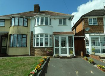 Thumbnail 3 bed semi-detached house for sale in Lode Lane, Solihull, Solihull