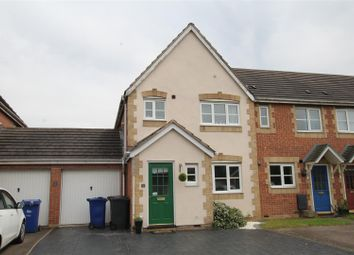 Thumbnail 3 bed semi-detached house for sale in Caraway Drive, Branston, Burton-On-Trent