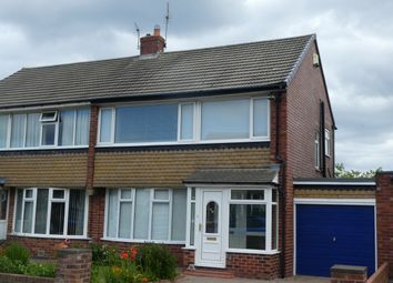 Thumbnail 3 bed semi-detached house for sale in Melrose Avenue, Cullercoats