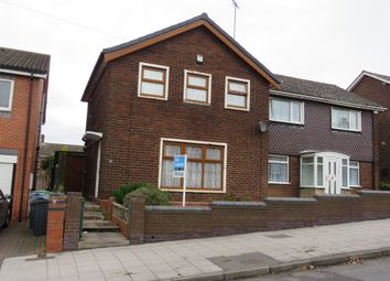 Thumbnail 3 bedroom semi-detached house for sale in Wood Lane, West Bromwich