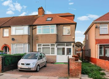 Thumbnail 4 bedroom end terrace house for sale in Kings Avenue, Greenford