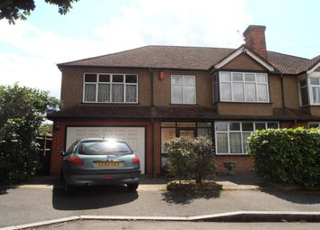 Thumbnail 4 bedroom semi-detached house for sale in Pentlands Close, Mitcham