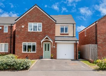 Thumbnail 4 bed detached house for sale in Lamplight Way, Hednesford, Cannock