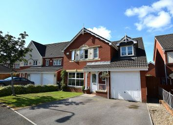 Thumbnail 5 bedroom detached house for sale in Bassetts Field, Thornhill, Cardiff.