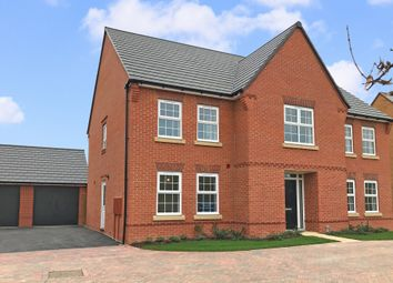 """Thumbnail 5 bedroom detached house for sale in """"Glidewell"""" at Dudley Close, Marston Moretaine, Bedford"""