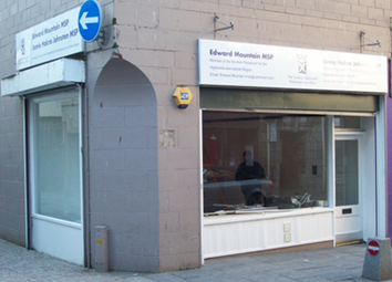 Thumbnail Retail premises for sale in Six Leased Retail Units, Inverness City Centre