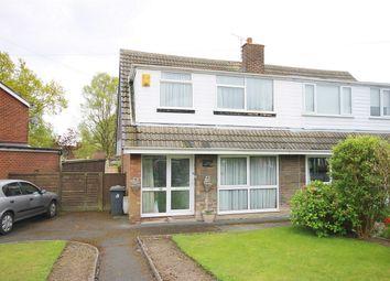 Thumbnail 3 bed semi-detached house for sale in Parkland Close, Appleton Thorn, Warrington