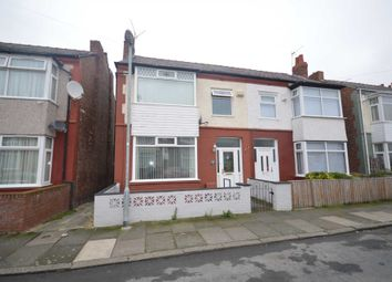 Thumbnail 3 bed semi-detached house for sale in Silverdale Road, Bebington, Wirral