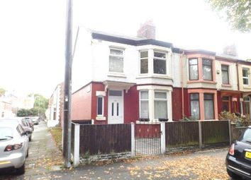 Thumbnail 3 bed end terrace house for sale in Elm Vale, Liverpool, Merseyside