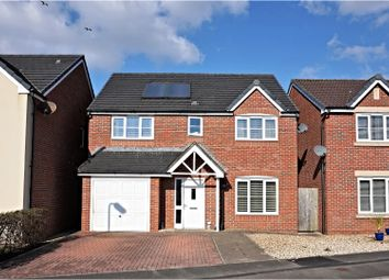 Thumbnail 4 bed detached house for sale in Clos Cae Ffynnon, North Cornelly