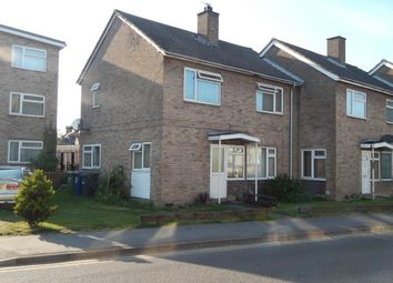 Thumbnail 3 bed end terrace house for sale in Huntingdon Street, St. Neots