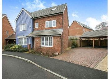 Thumbnail 5 bed detached house for sale in Chartwell Lane, Longfield