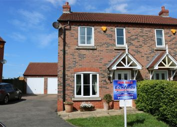 Thumbnail 3 bed semi-detached house for sale in Churchfields Road, Folkingham, Nr Sleaford