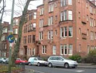 Thumbnail 2 bed flat to rent in Queensborough Gardens, Hyndland, Glasgow