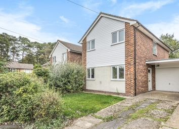 Thumbnail 3 bed detached house for sale in Whitehill Close, Camberley