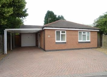 Thumbnail 2 bed detached bungalow for sale in Kings Walk, Leicester Forest East, Leicester