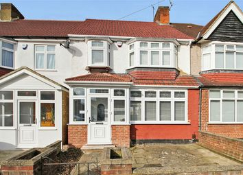 Thumbnail 3 bed terraced house for sale in Claremont Avenue, Kenton, Harrow
