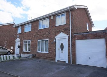Thumbnail 3 bedroom semi-detached house for sale in Raldan Close, Barry