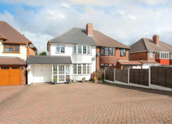 Thumbnail 3 bed semi-detached house for sale in Walsall Road, Aldridge, Walsall