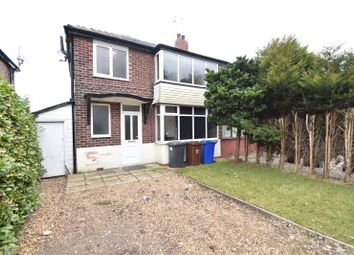 Thumbnail 3 bed semi-detached house to rent in Heys Road, Prestwich, Manchester