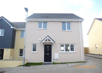 Thumbnail 3 bed semi-detached house to rent in Harvenna Heights, Fraddon, St. Columb, Cornwall