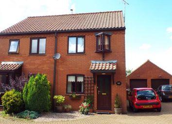 Thumbnail 2 bed semi-detached house for sale in Ashwicken, King's Lynn, Norfolk