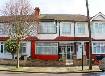 Thumbnail 3 bed terraced house for sale in Branksome Avenue, London