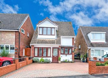 Thumbnail 3 bed detached house for sale in Woodfield Close, Norton Canes, Cannock