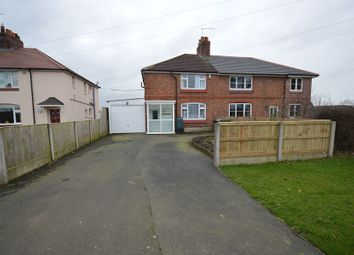 Thumbnail 3 bed semi-detached house to rent in Crowton Cottages, Winsford Road, Cholmondeston