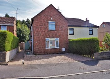 Thumbnail 3 bed semi-detached house for sale in Sherwood Avenue, Mansfield
