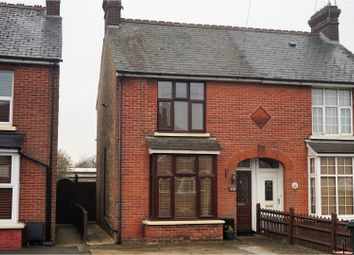 Thumbnail 2 bed semi-detached house for sale in Hythe Road, Ashford