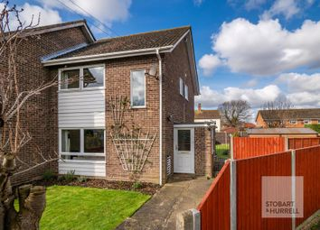 Thumbnail 3 bed end terrace house for sale in Leeds Way, Horning, Norfolk