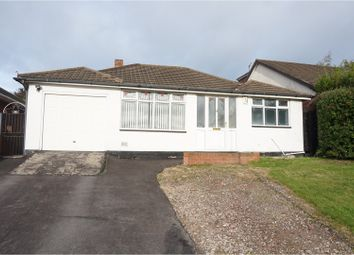 Thumbnail 2 bed detached bungalow for sale in Ullswater Place, Cannock