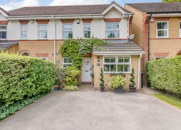 Thumbnail 3 bed semi-detached house for sale in Chertsey Road, Addlestone, Surrey