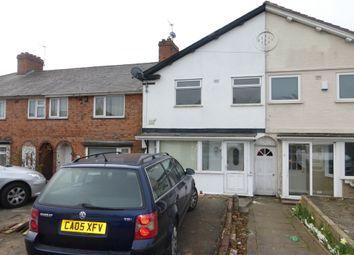 3 bed terraced house to rent in Perry Common Road, Erdington, Birmingham B23