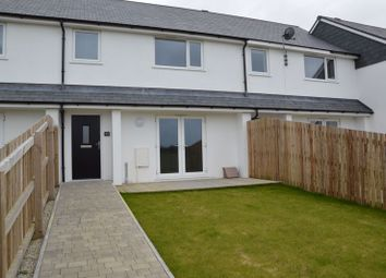 Thumbnail 3 bed terraced house to rent in Gannel Rock Close, Newquay