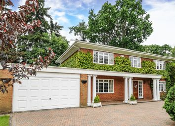 Thumbnail 5 bed detached house to rent in Chanctonbury Drive, Sunningdale, Berkshire