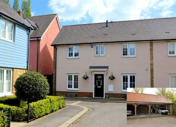 Thumbnail 3 bed semi-detached house for sale in Park Side, Epping