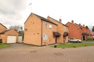 Thumbnail 2 bedroom semi-detached house for sale in Glen Parva, Leicester