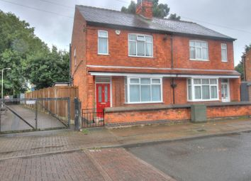 Thumbnail 2 bed semi-detached house for sale in Central Avenue, Wigston