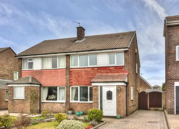 Thumbnail 3 bed semi-detached house for sale in Chichester Close, Smithy Bridge