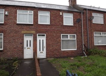 Thumbnail 2 bed terraced house to rent in North Seaton Road, Ashington
